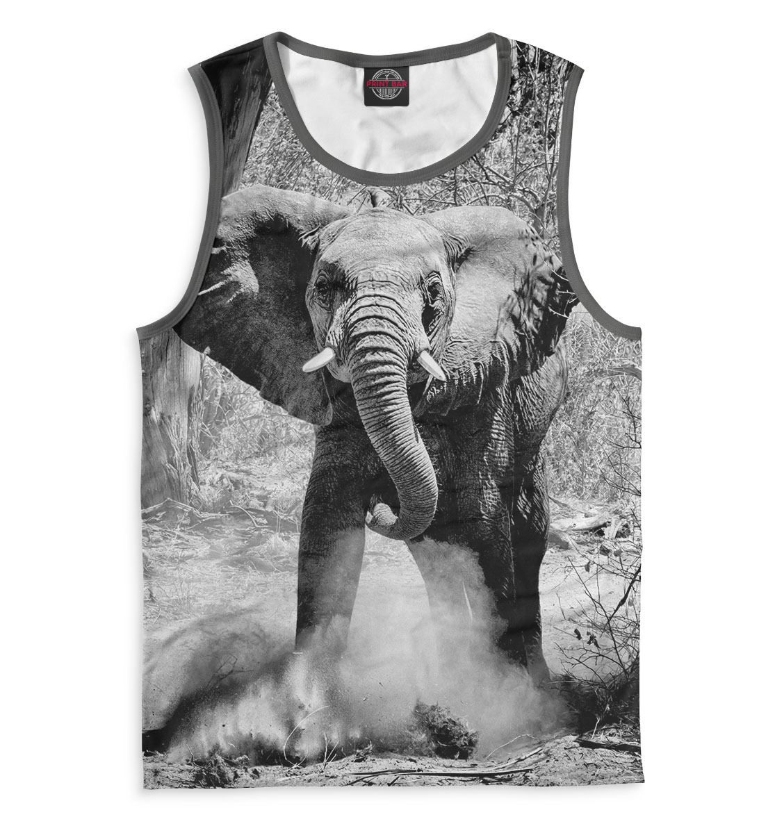 Купить Слоны, Printbar, Майки, SLO-139136-may-2