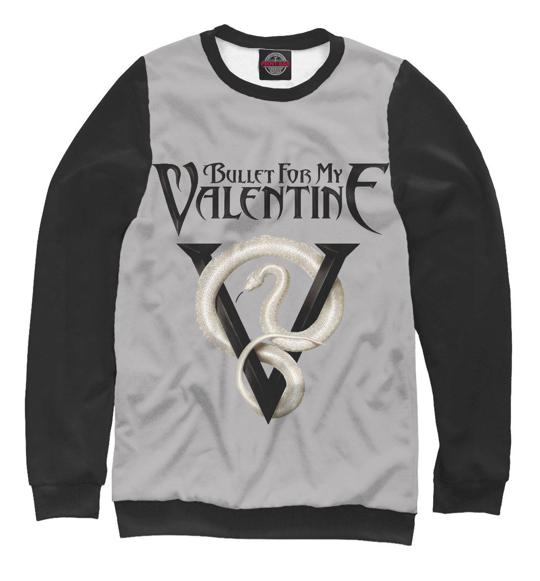 Купить Bullet for My Valentine Venom, Printbar, Свитшоты, BMV-399029-swi-1