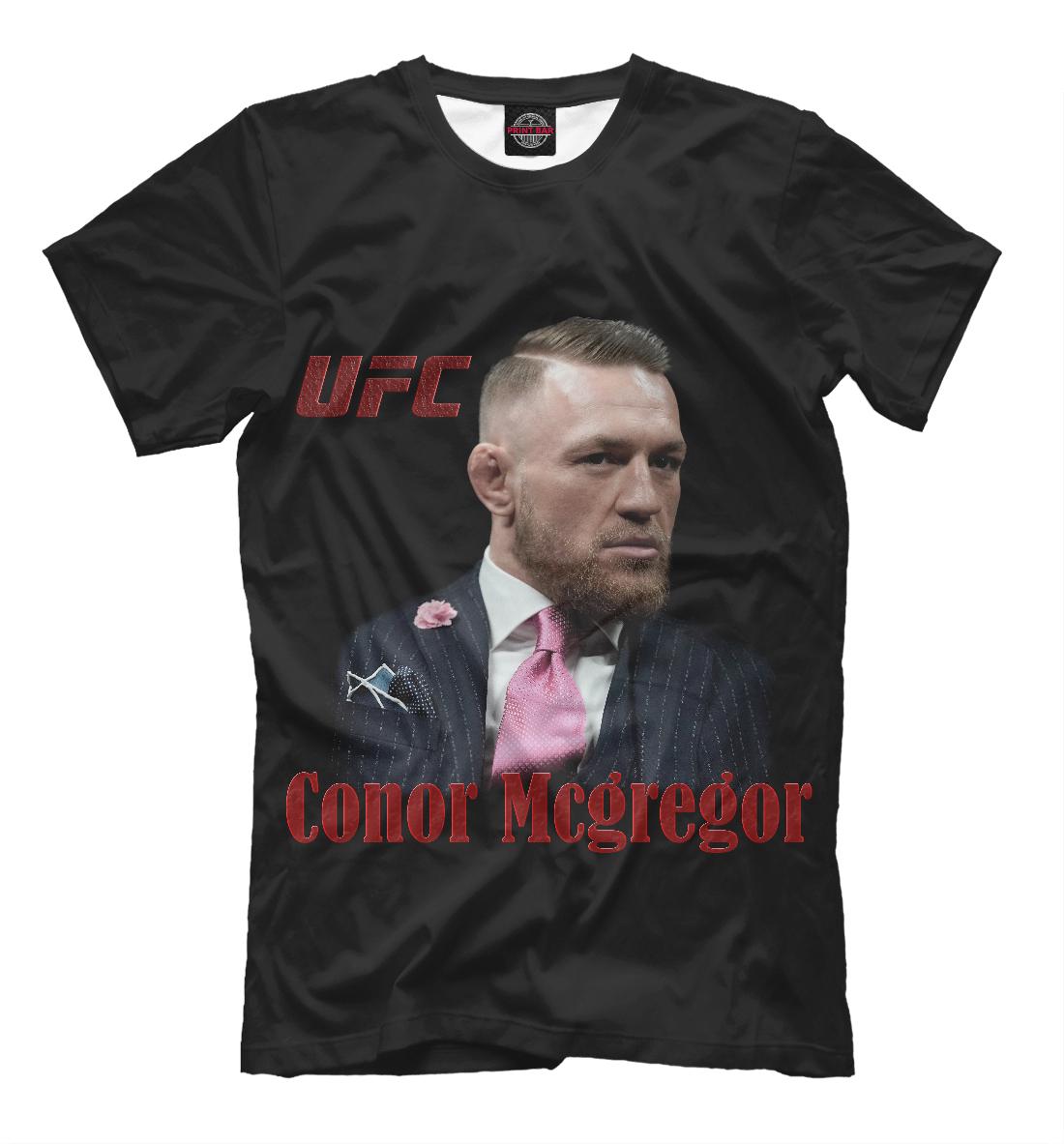 Купить Конор МакГрегор - UFC Fight Club, Printbar, Футболки, MCG-134612-fut-2