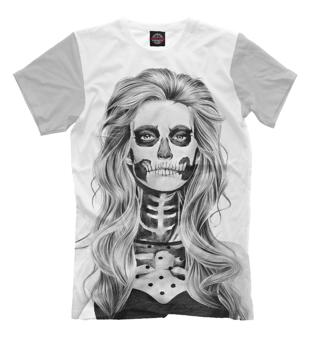 Купить Zombie Girl, Printbar, Футболки, HAL-385292-fut-2