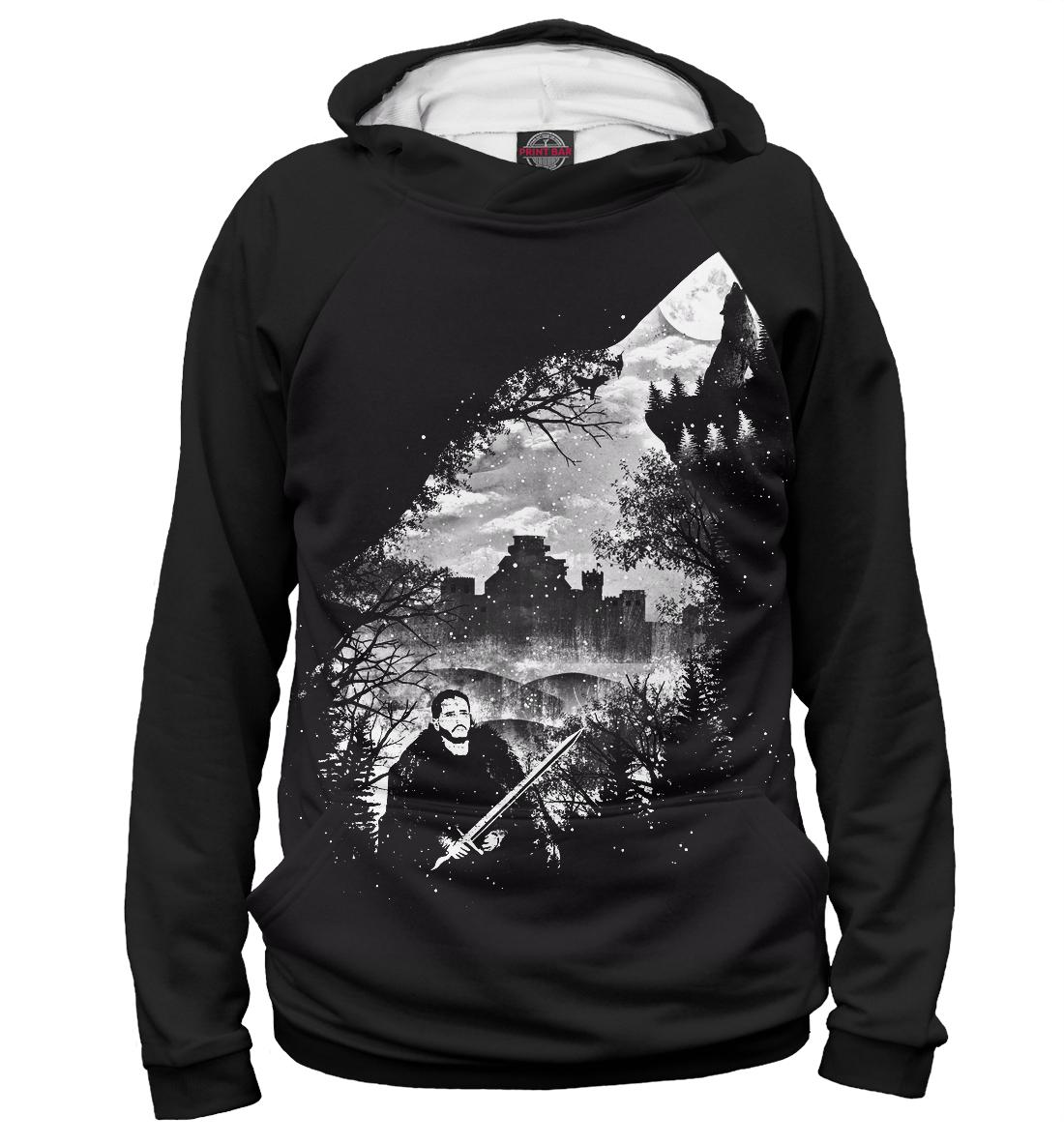 Купить Jon Snow, Printbar, Худи, IGR-904095-hud-1