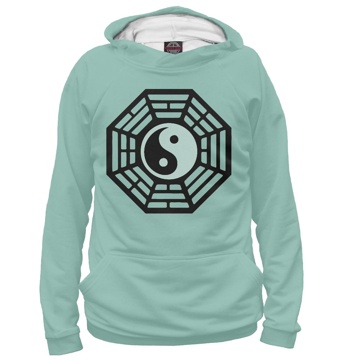 Купить Lost - Dharma Initiative (Blue), Printbar, Худи, APD-420461-hud-1