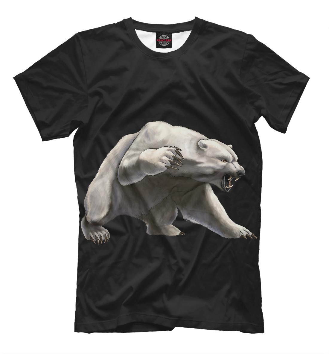 Купить Полярный медведь, Printbar, Футболки, MED-229767-fut-2