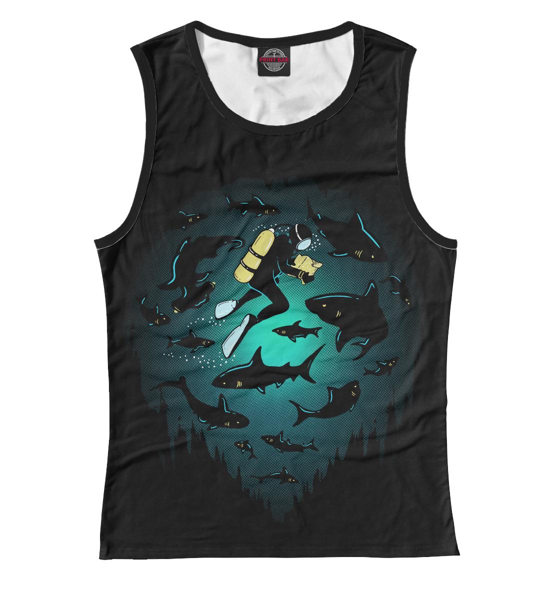 Купить Подводный мир, Printbar, Майки, POD-659569-may-1