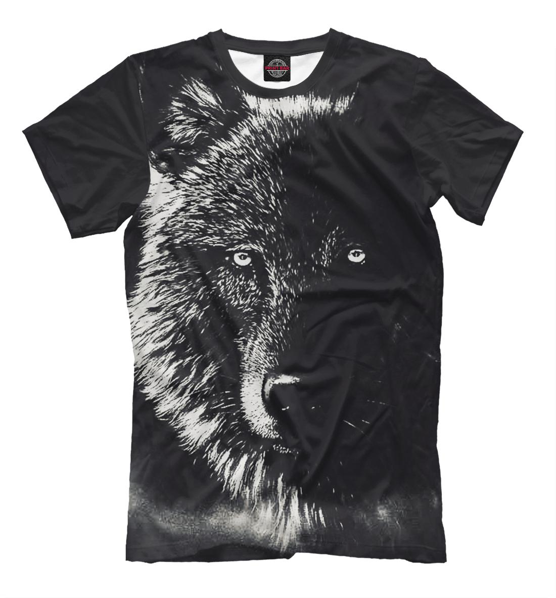 Купить Черный Волк, Printbar, Футболки, VLF-586949-fut-2