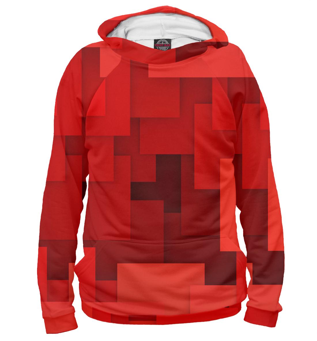 Купить Красная геометрия, Printbar, Худи, GEO-145270-hud-2
