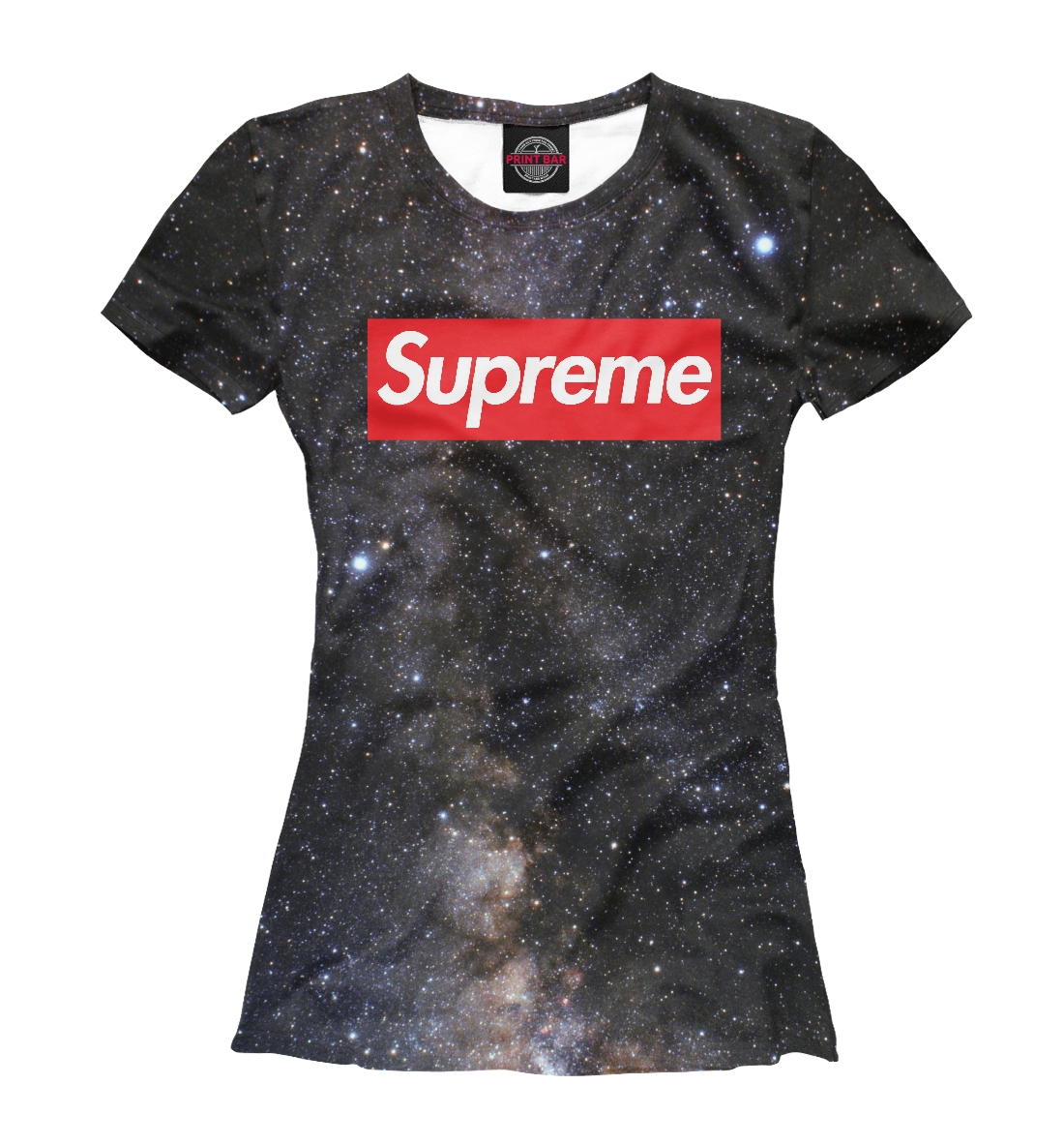 Купить Black space supreme, Printbar, Футболки, SPR-333928-fut-1