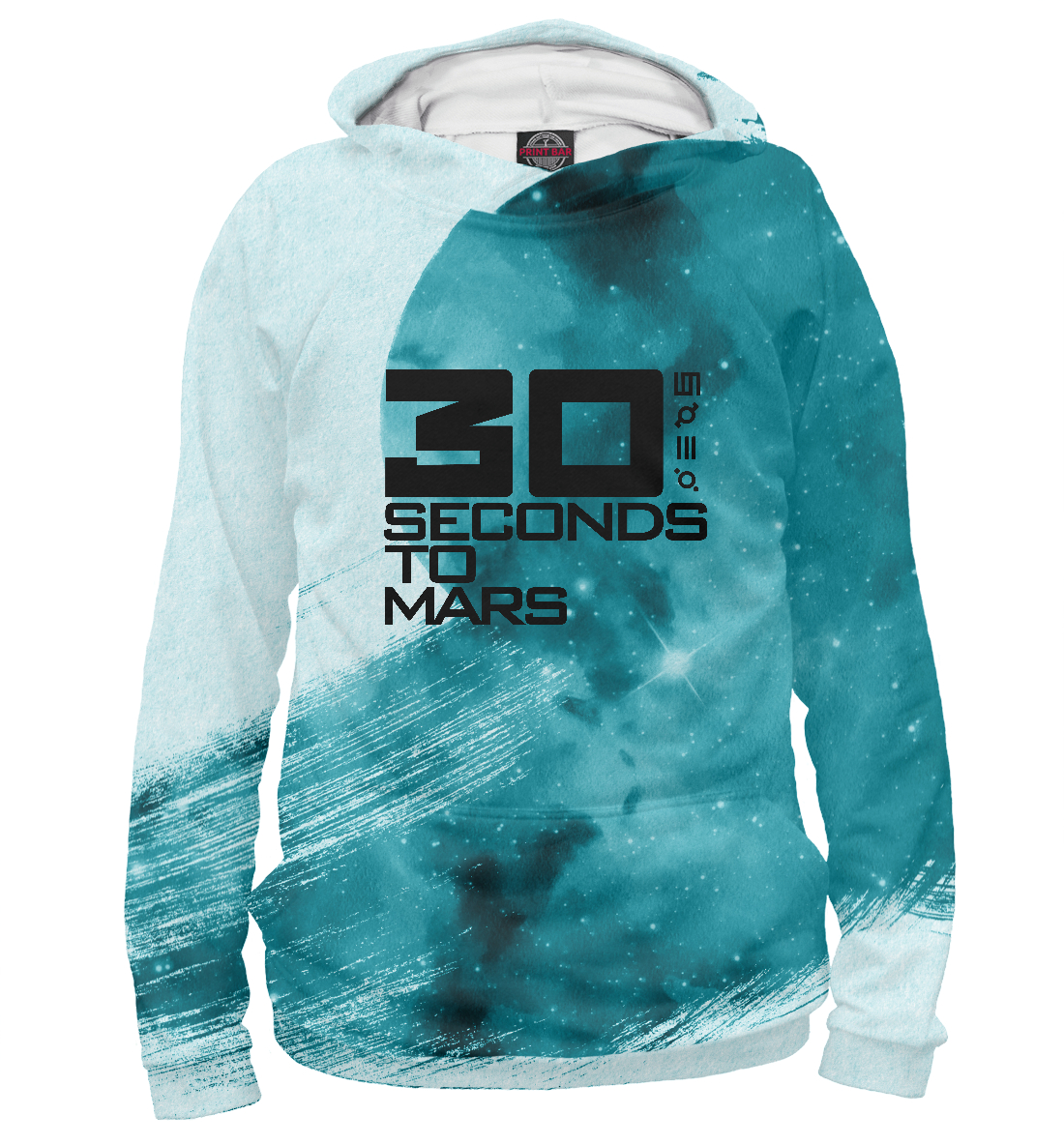 Купить 30 seconds to mars collection, Printbar, Худи, 30S-178288-hud-1