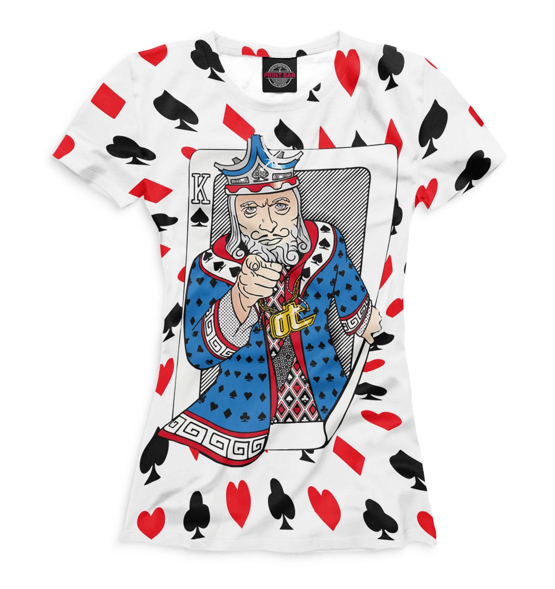 Купить Покер, Printbar, Футболки, POK-203540-fut-1
