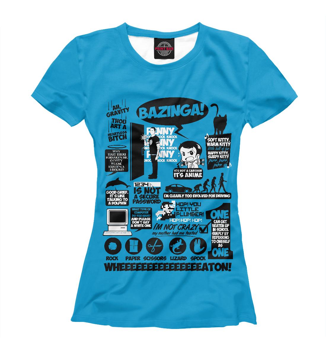 Купить The Big Bang Theory, Printbar, Футболки, TEO-464369-fut-1