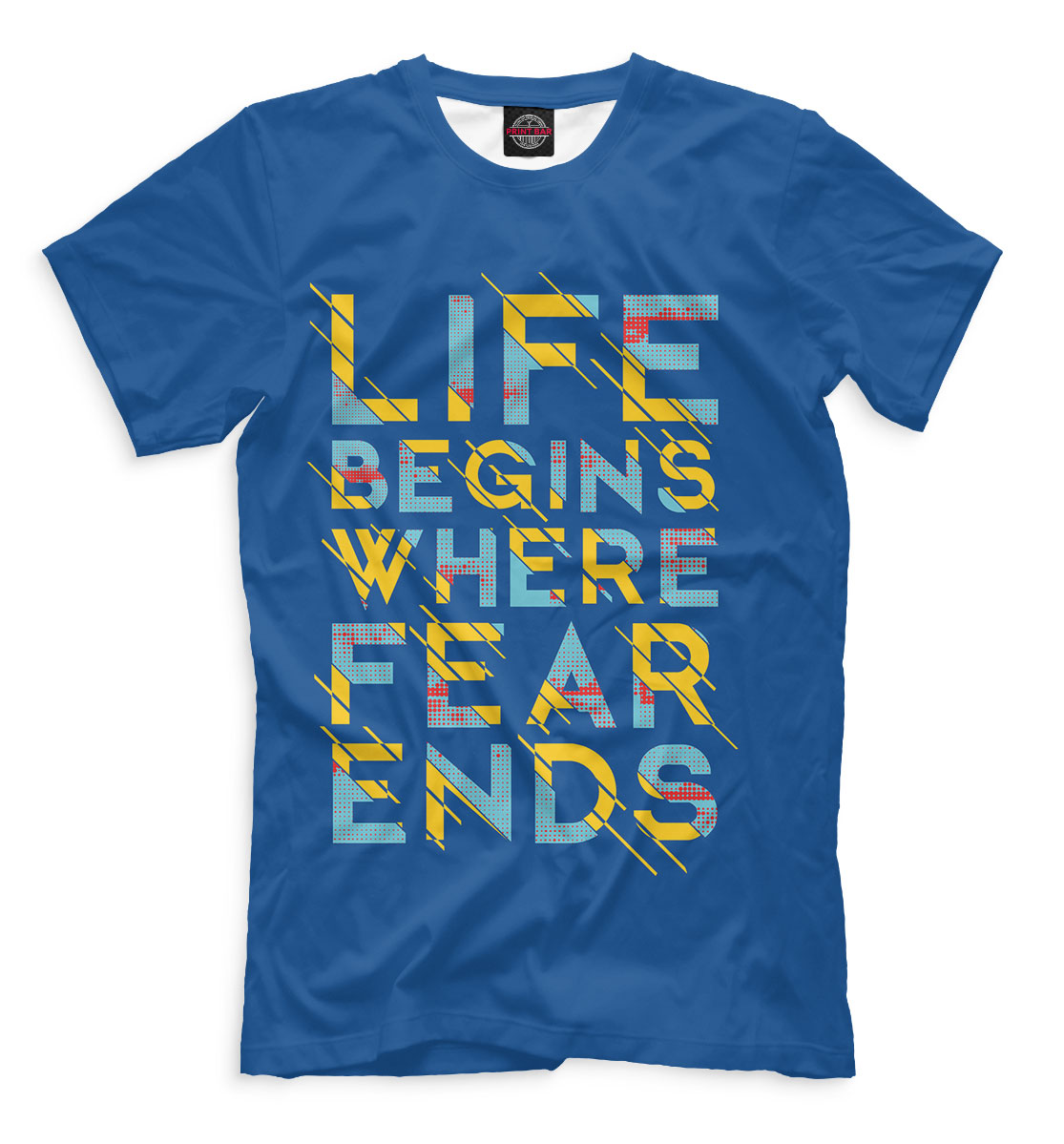 Фото - Life Begins Where Fear Ends joy laskar modern receiver front ends