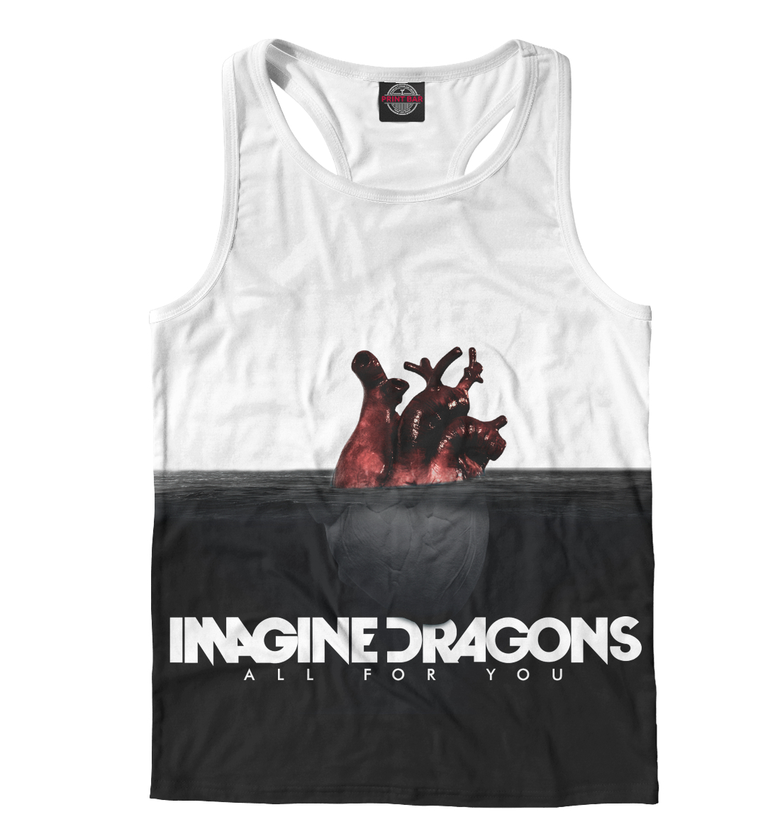 Купить Imagine Dragons, Printbar, Майки борцовки, IMA-201903-mayb-2