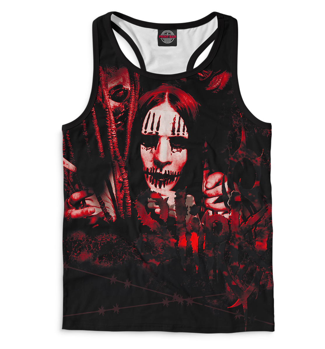 Купить Slipknot, Printbar, Майки борцовки, SLI-350120-mayb-2