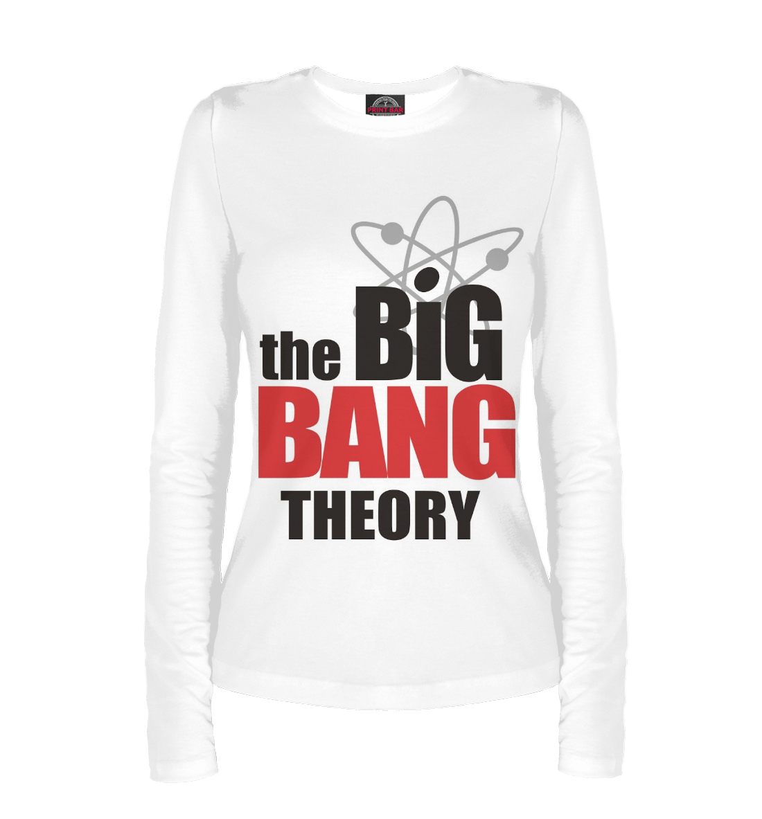 Купить The Big Bang Theory, Printbar, Лонгсливы, TEO-602107-lon-1