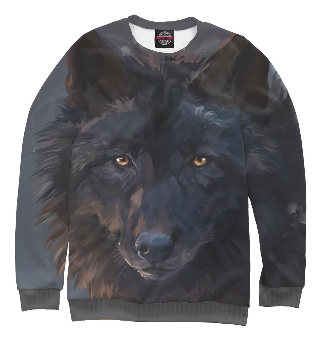Купить Черный волк, Printbar, Свитшоты, VLF-121566-swi-1