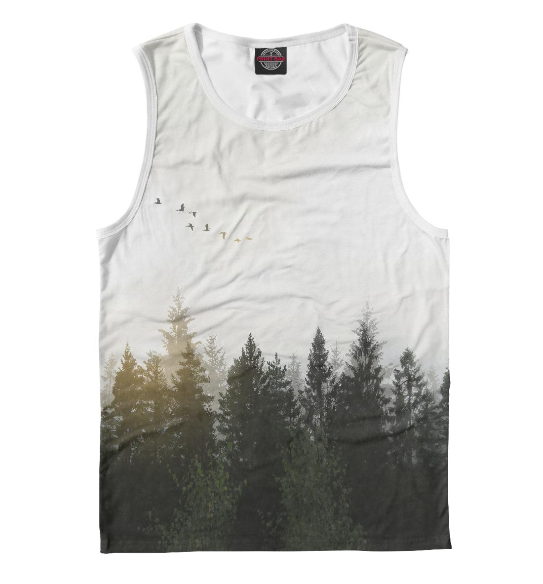 Купить Лесной пейзаж, Printbar, Майки, PEY-328282-may-2