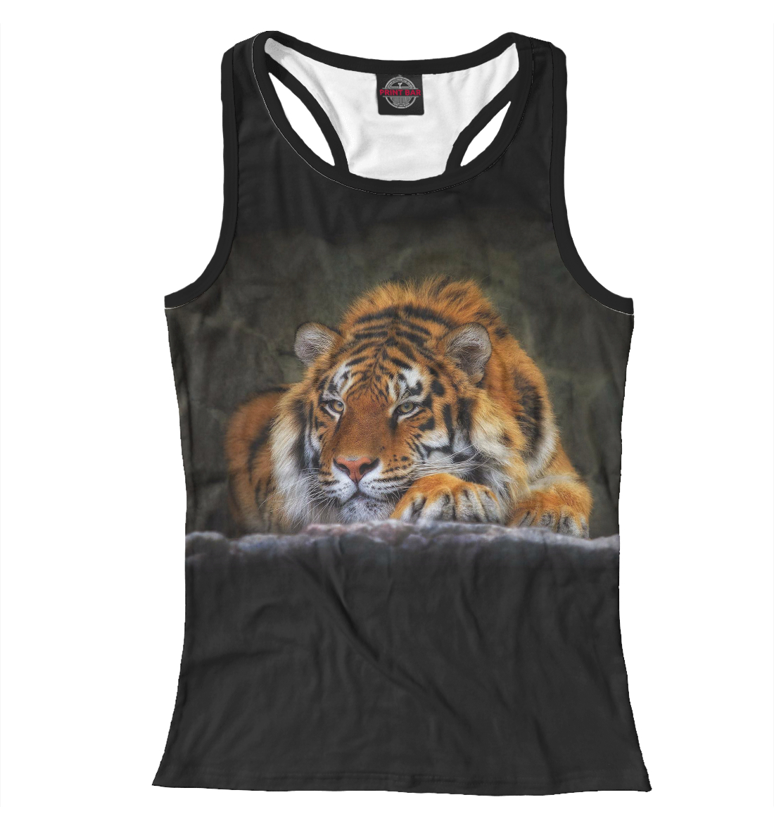 Купить Тигр, Printbar, Майки борцовки, HIS-829873-mayb-1