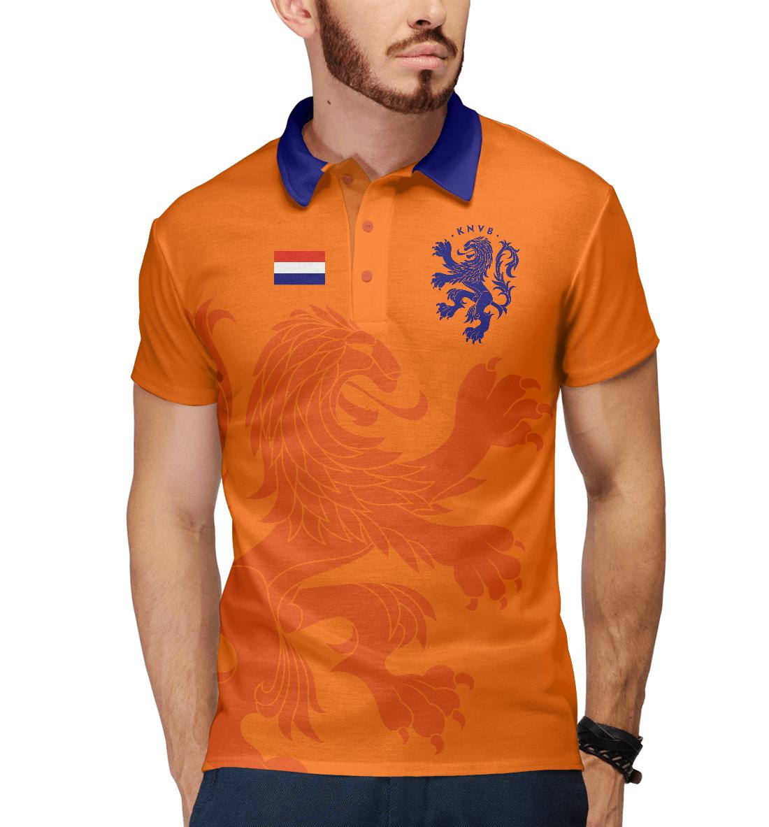 Купить Голландия, Printbar, Поло, FNS-183837-pol-2