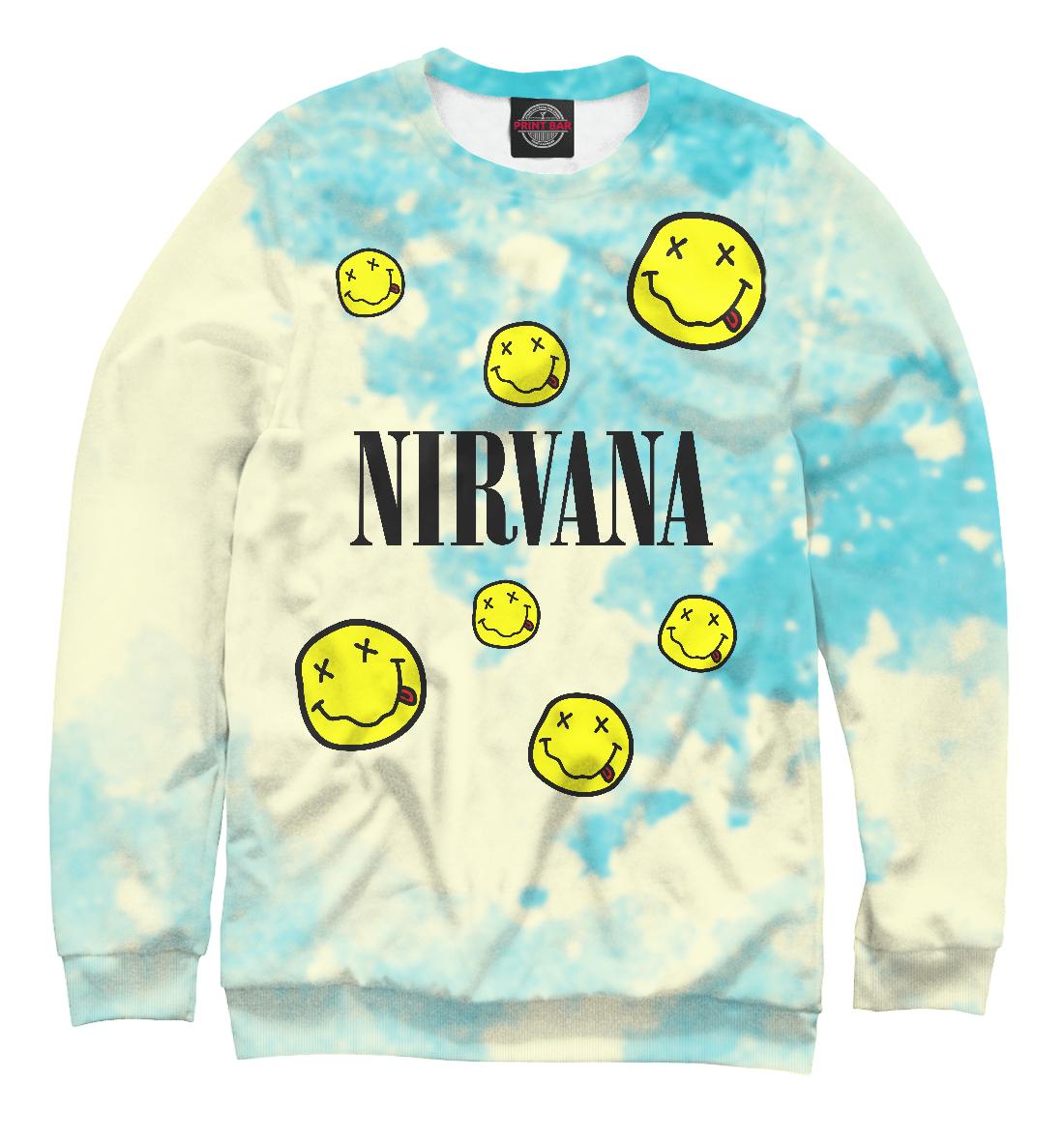 Купить Nirvana, Printbar, Свитшоты, NIR-301816-swi-1
