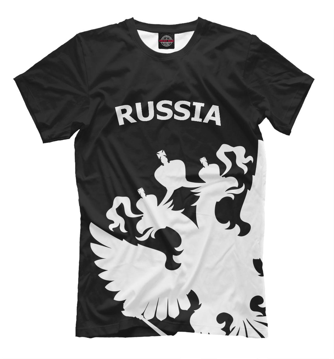 Купить Russia Black&White Collection, Printbar, Футболки, SRF-938797-fut-2