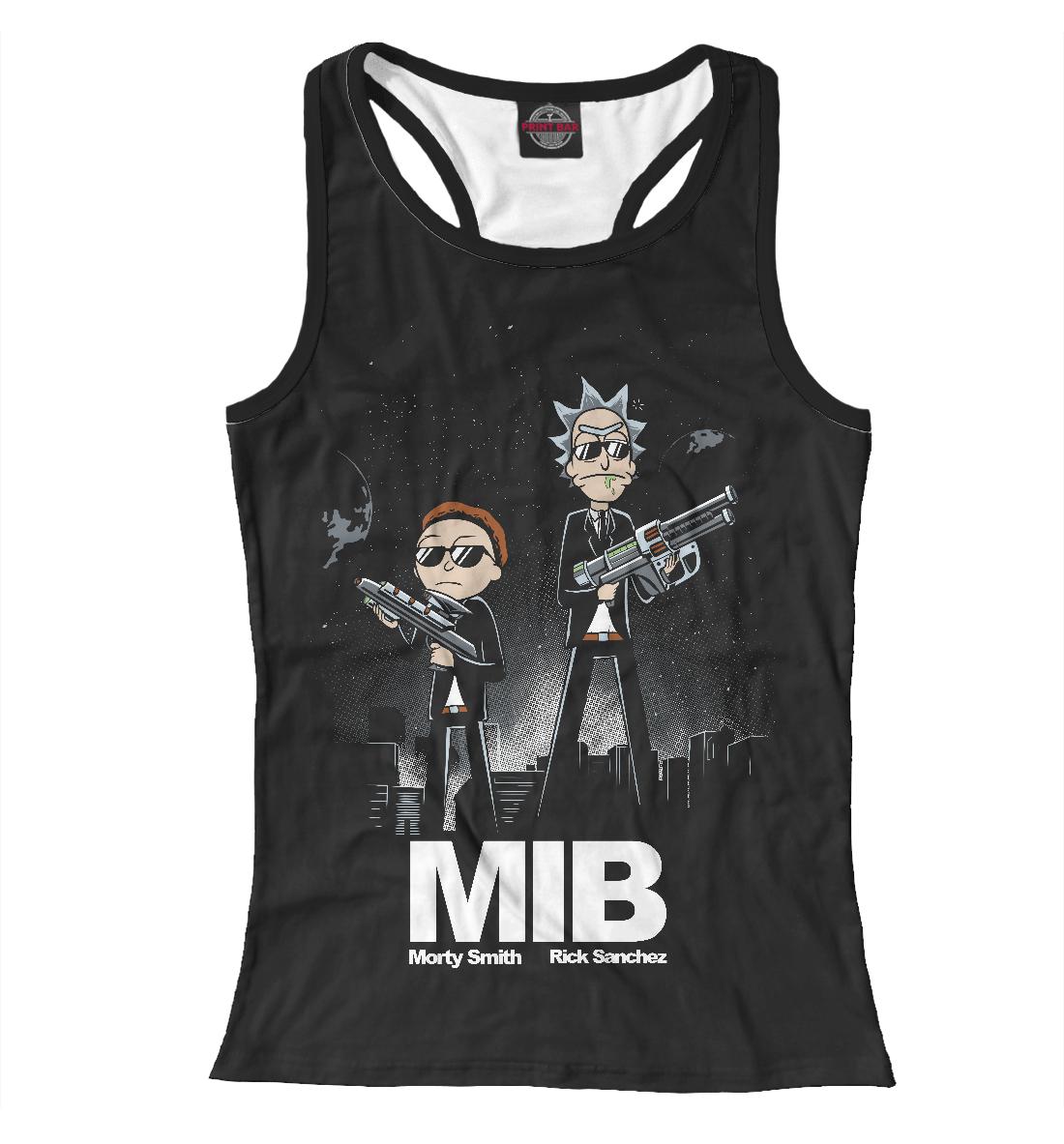 Купить MIB: Rick snd Morty, Printbar, Майки борцовки, RNM-391905-mayb-1