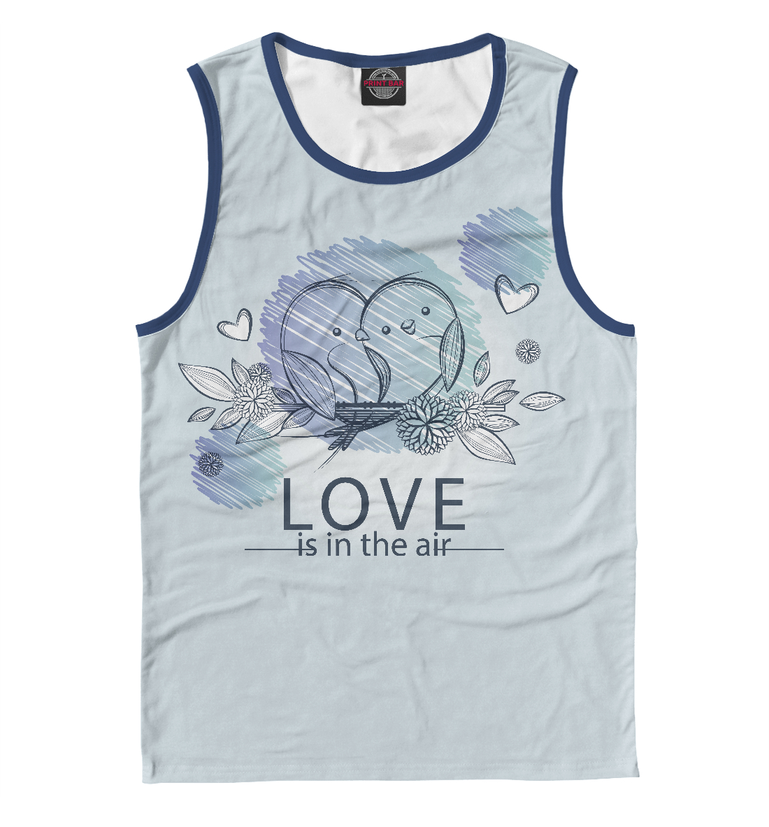 худи print bar love is in the air Love is in the air