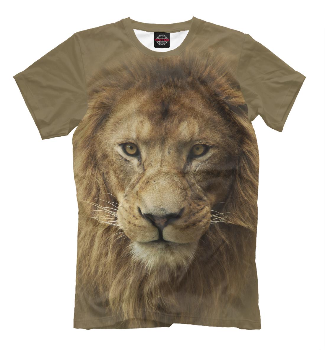 Купить Lion, Printbar, Футболки, HIS-486288-fut-2