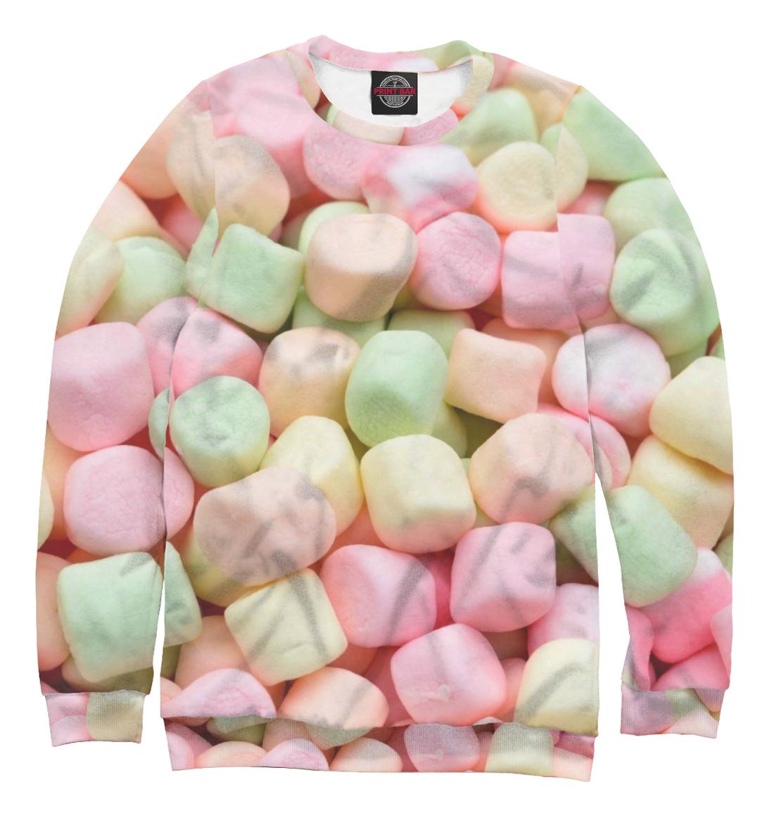 Купить Разноцветный зефир, Printbar, Свитшоты, EDA-504668-swi-1