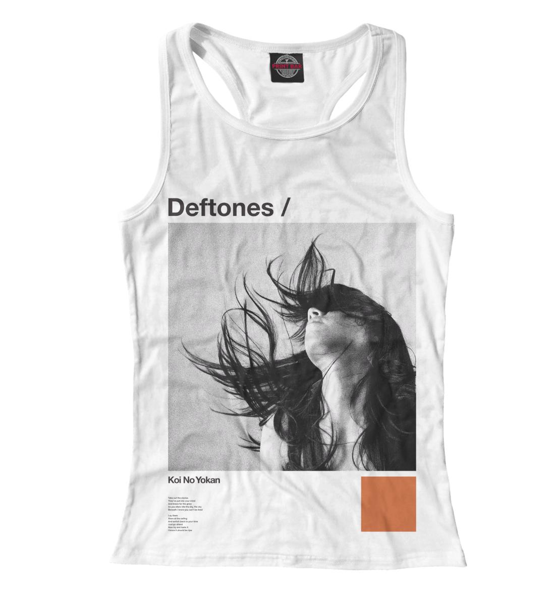 Купить Deftones, Printbar, Майки борцовки, MZK-552681-mayb-1