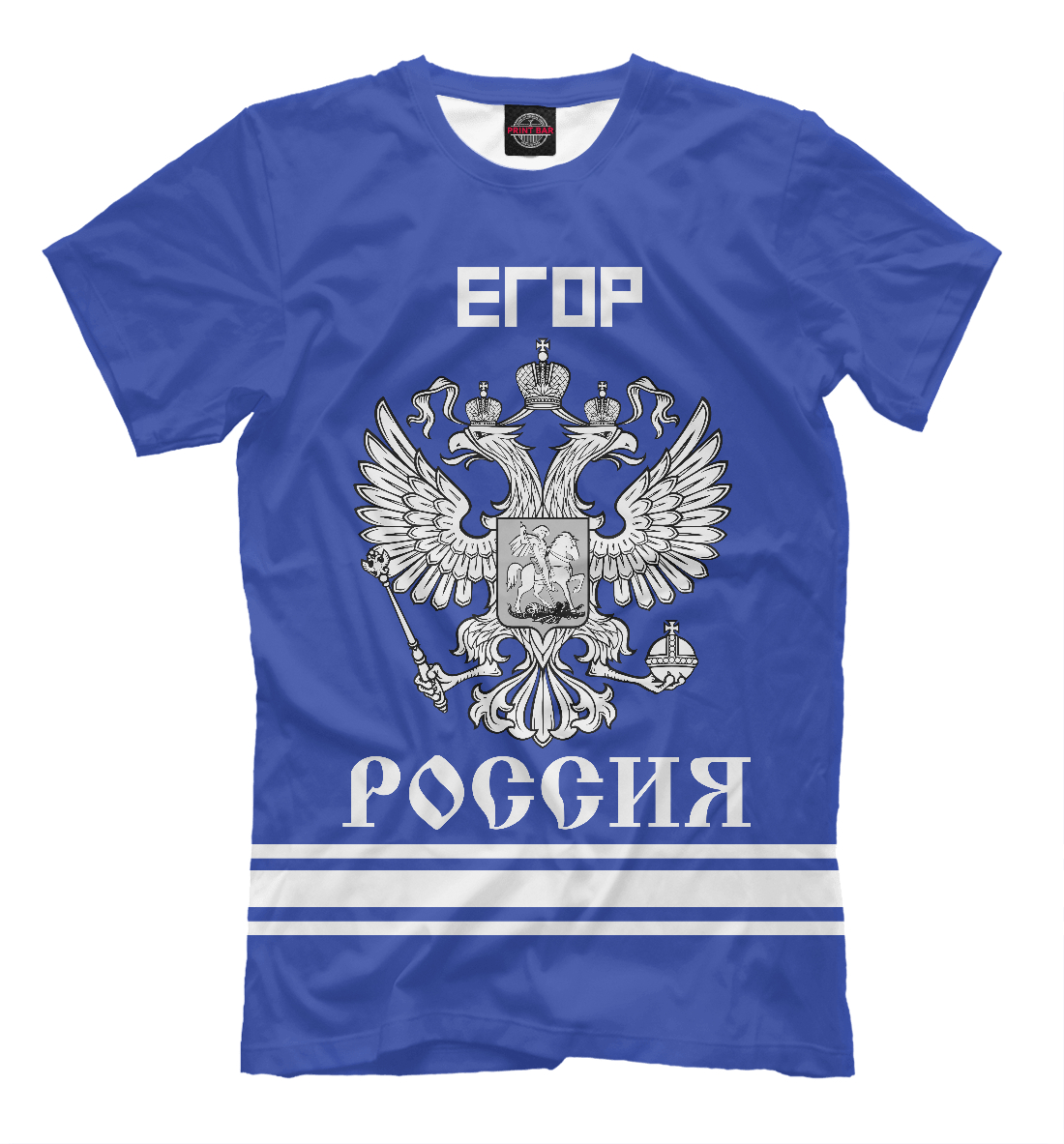 Купить ЕГОР sport russia collection, Printbar, Футболки, EGR-209759-fut-2