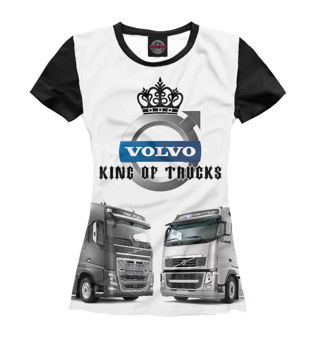 Купить VOLVO - король грузовиков, Printbar, Футболки, GRZ-894611-fut-1