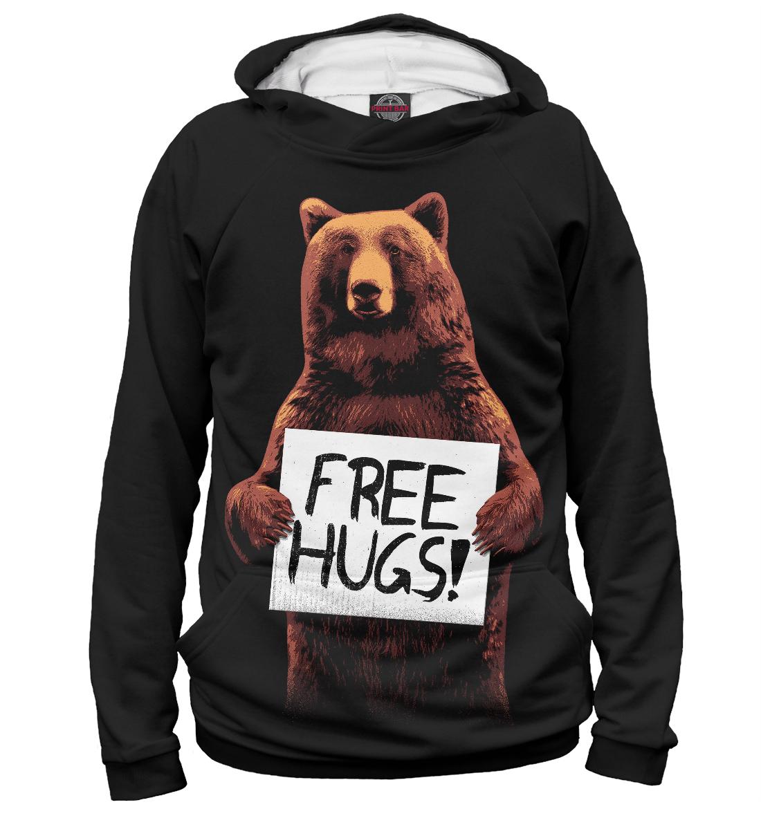 Купить Медвежьи обьятия, Printbar, Худи, MED-666522-hud-2