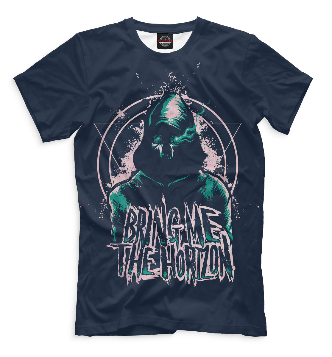 Купить Bring Me the Horizon, Printbar, Футболки, BRI-388850-fut-2