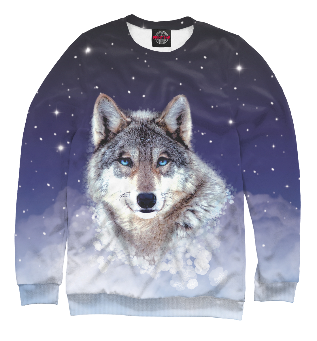 Купить Ночной волк, Printbar, Свитшоты, VLF-541198-swi-2