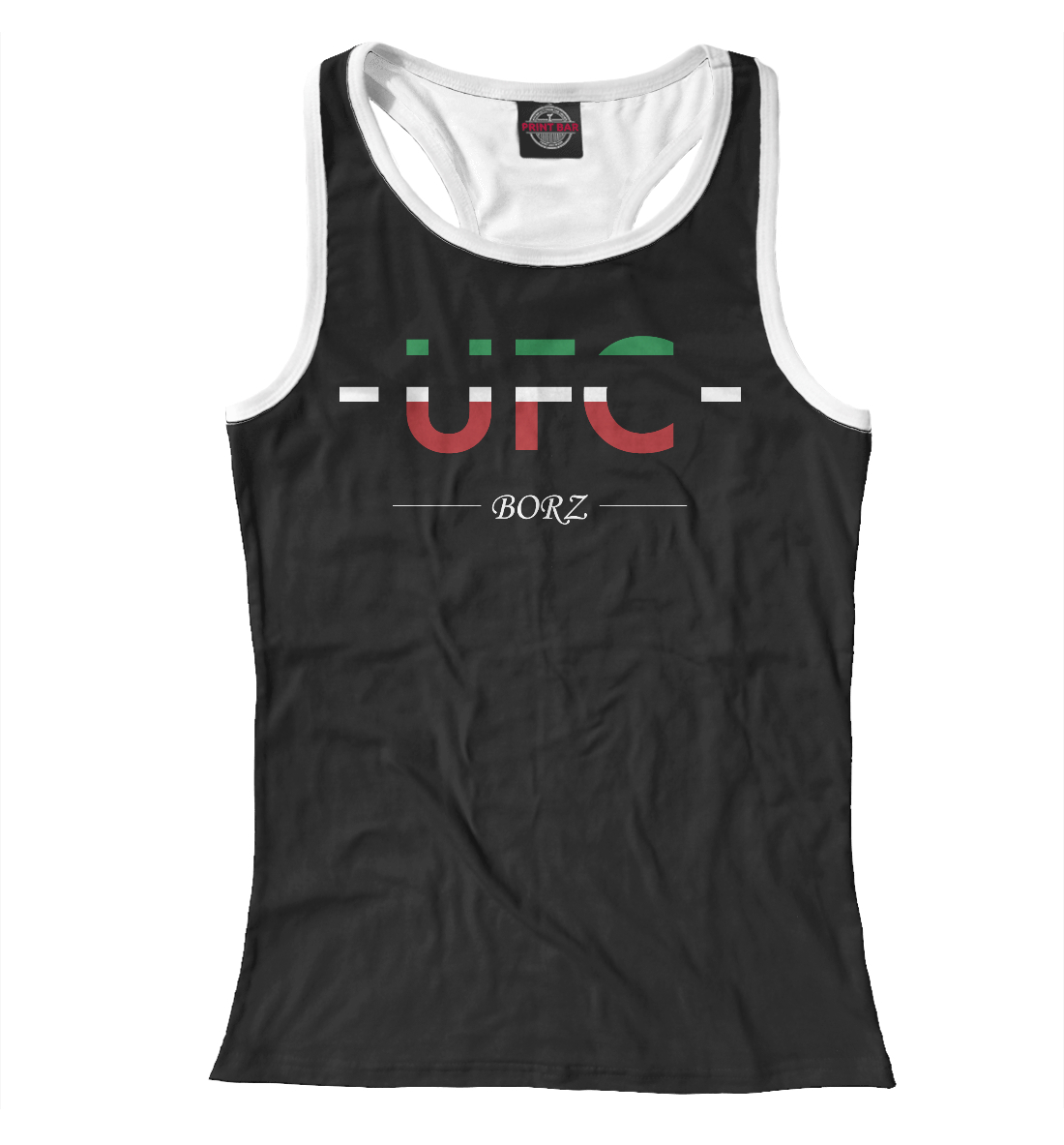 Купить UFC Borz, Printbar, Майки борцовки, MNU-162394-mayb-1