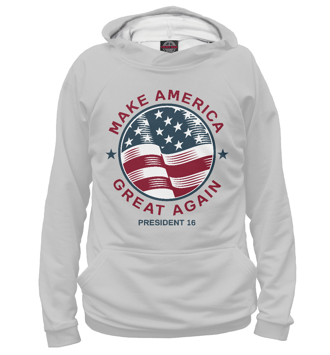 Купить Make America Great Again, Printbar, Худи, CTS-164412-hud-1