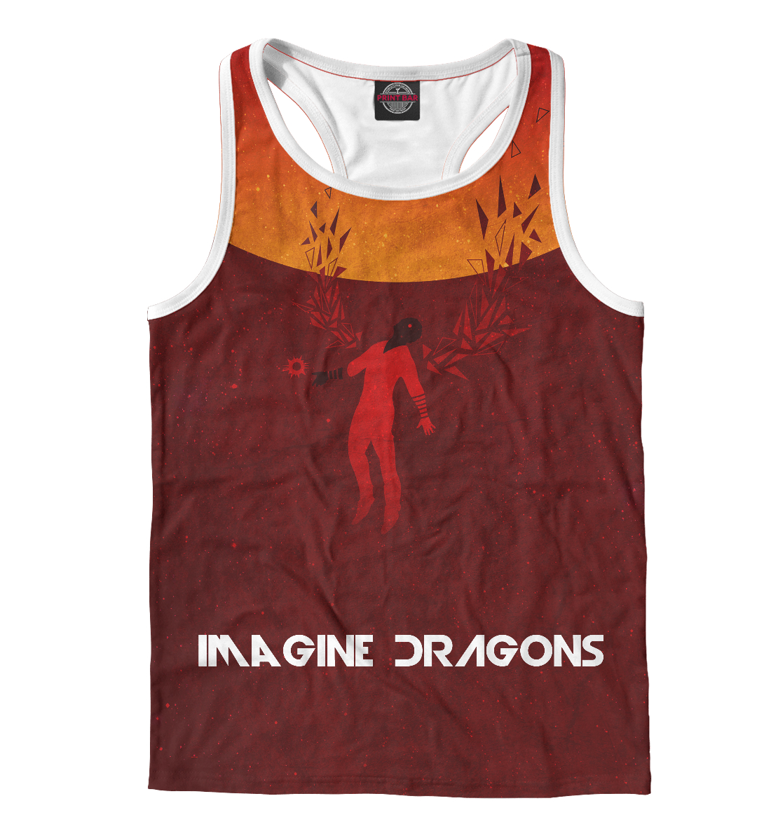 Купить Imagine Dragons, Printbar, Майки борцовки, IMA-244101-mayb-2
