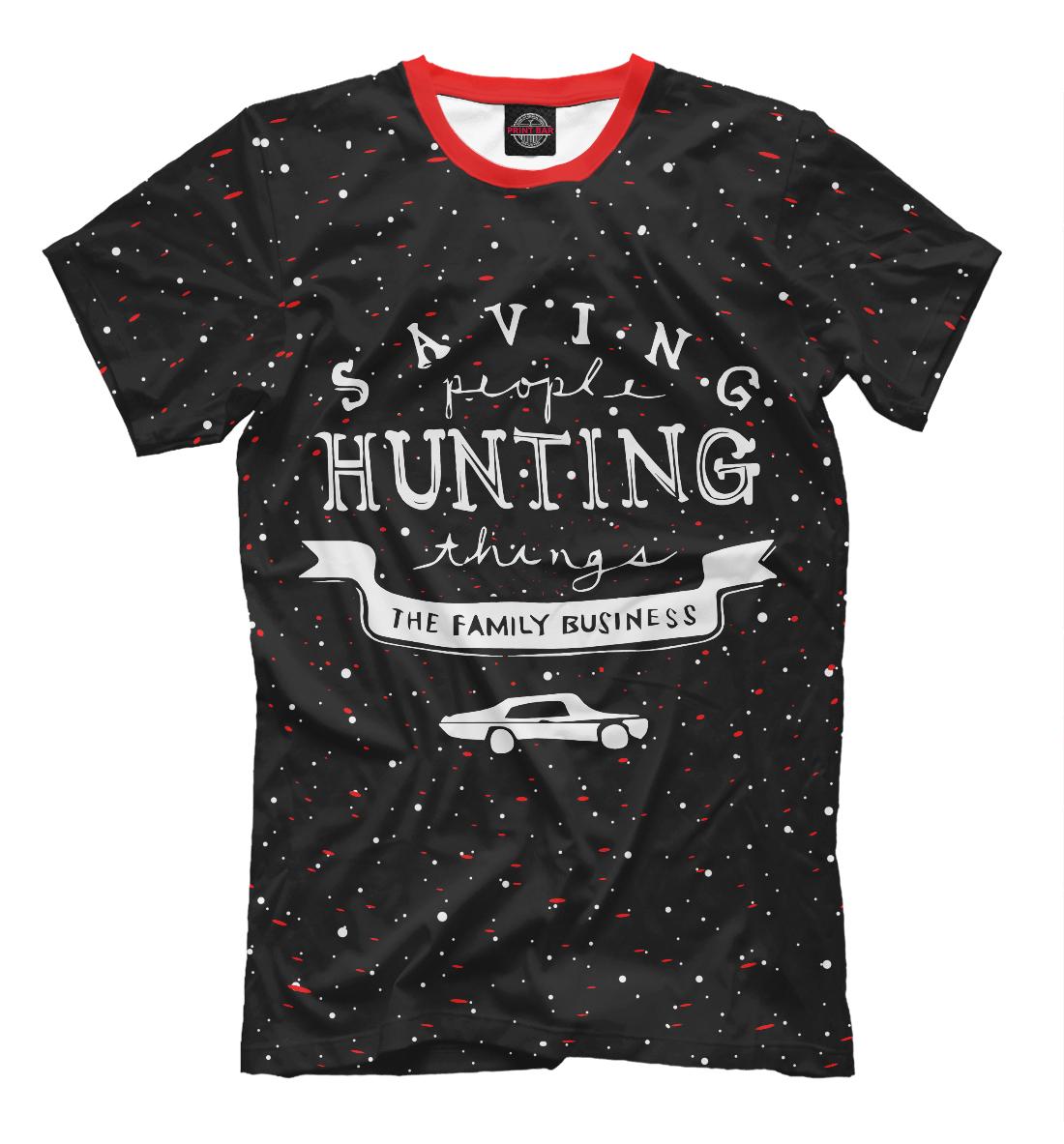 Купить Saving Hunting, Printbar, Футболки, SVE-516424-fut-2