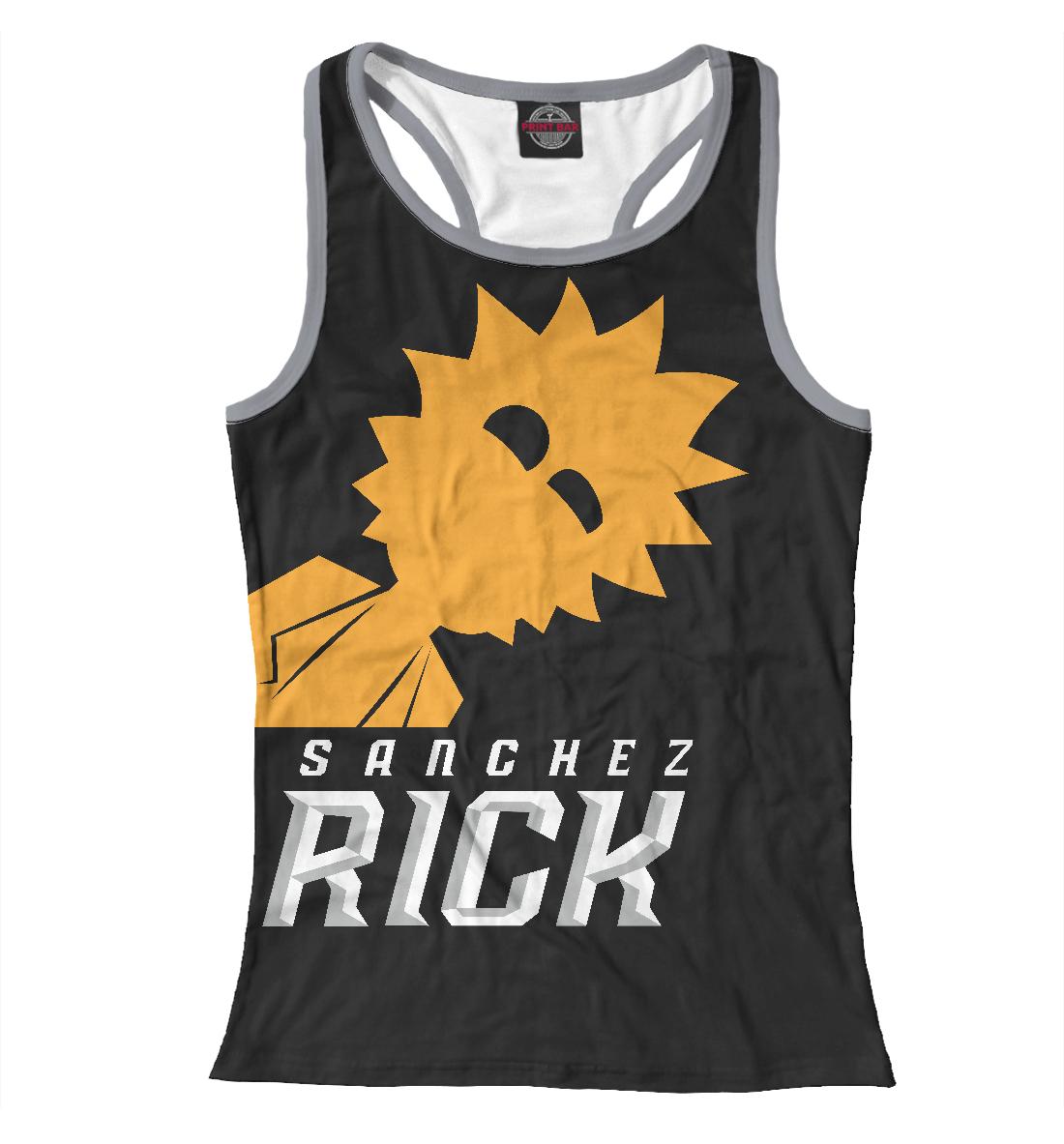 Купить Rick Sanchez, Printbar, Майки борцовки, RNM-351233-mayb-1