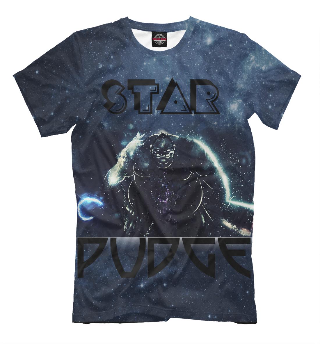 Купить Звёздный Пудж (Star Pudge), Printbar, Футболки, DO2-935955-fut-2