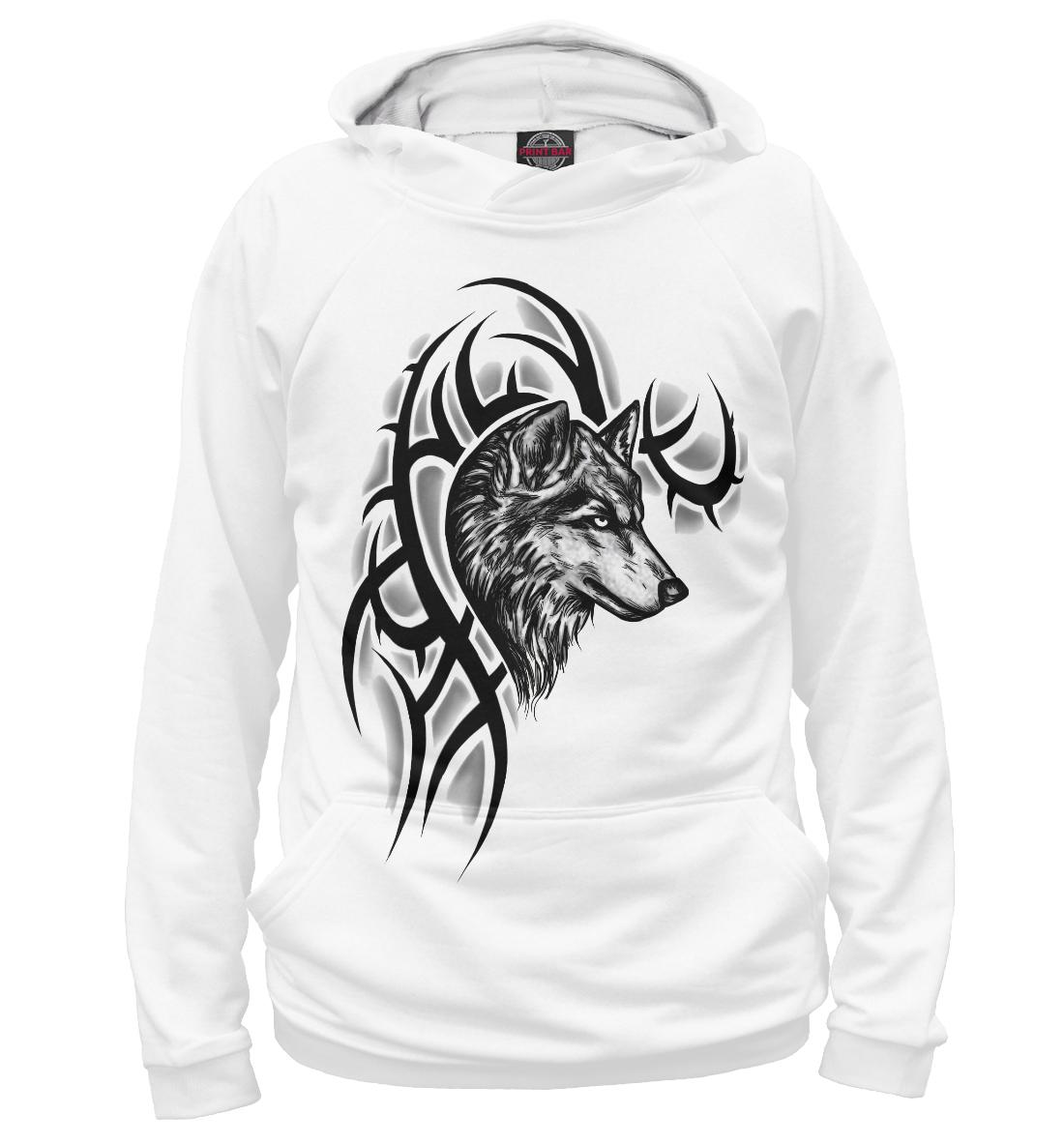Купить Волк, Printbar, Худи, VLF-876292-hud-2