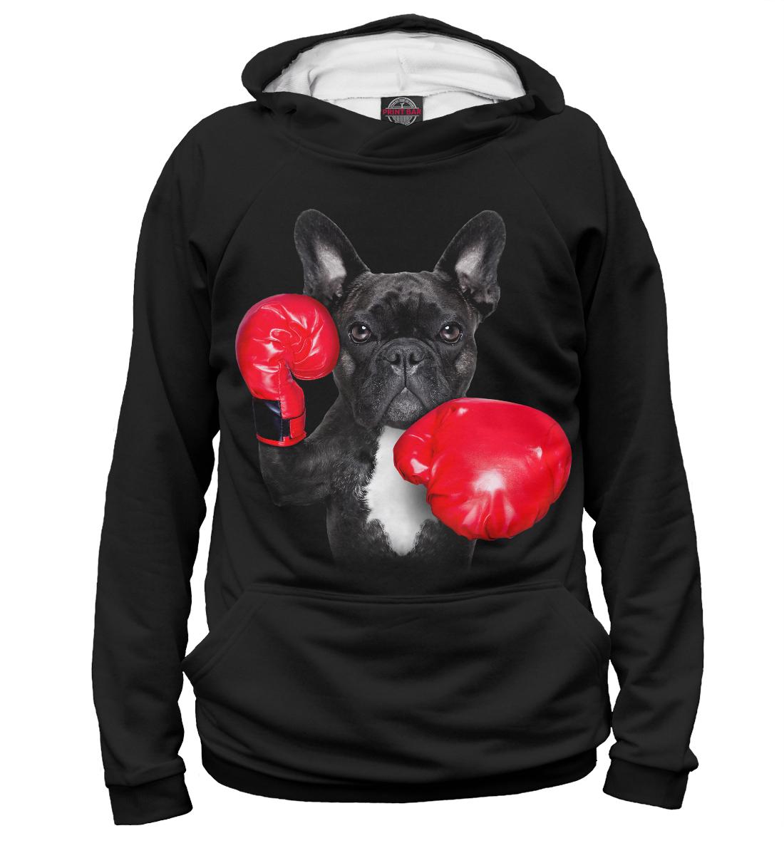 Купить Французский бульдог - боксер, Printbar, Худи, DOG-855948-hud-2