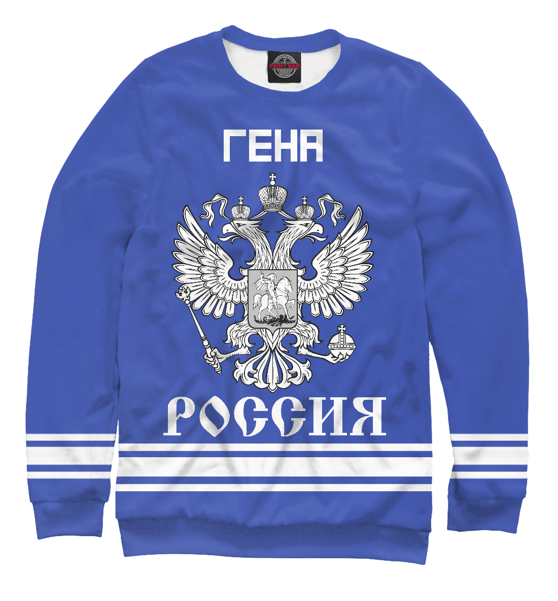 Купить ГЕНА sport russia collection, Printbar, Свитшоты, IMR-299532-swi-1