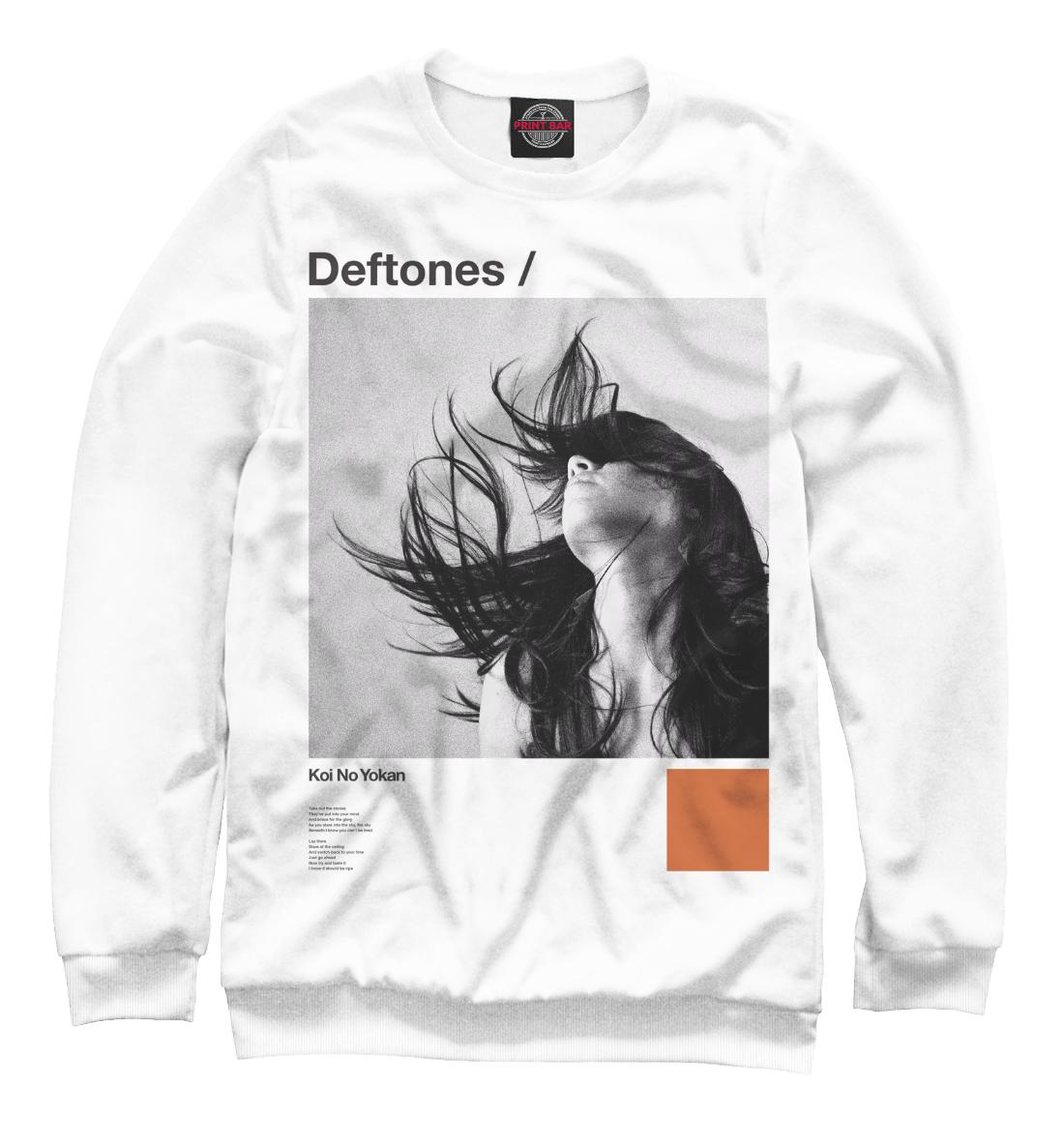 Купить Deftones, Printbar, Свитшоты, MZK-552681-swi-2