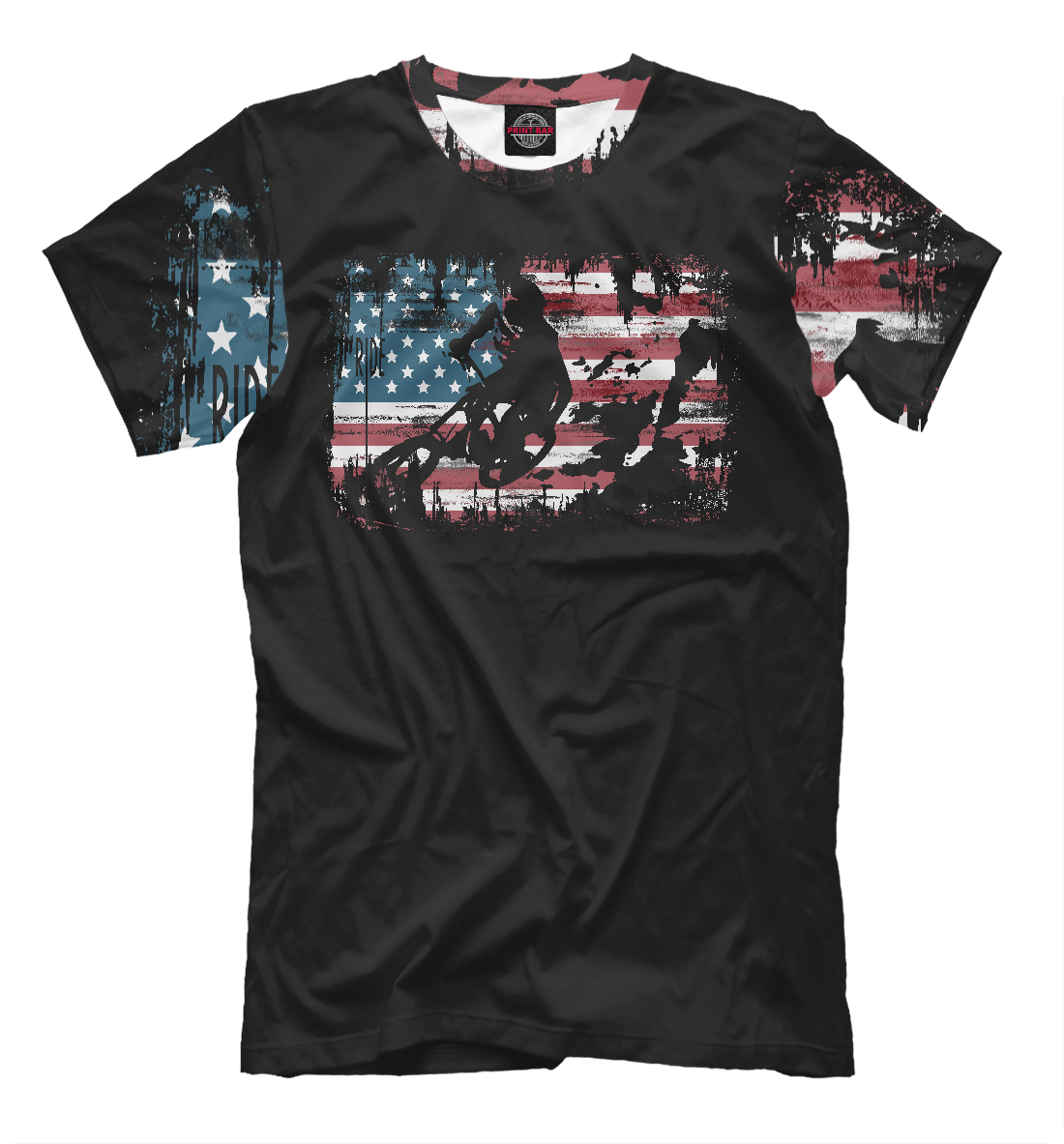 Купить Ride USA, Printbar, Футболки, BCL-848717-fut-2