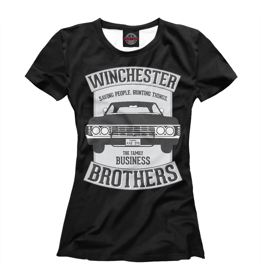 Купить Winchester Brothers, Printbar, Футболки, SVE-648109-fut-1