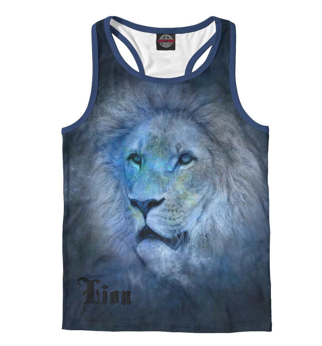 Купить Lion, Printbar, Майки борцовки, LEV-224318-mayb-2