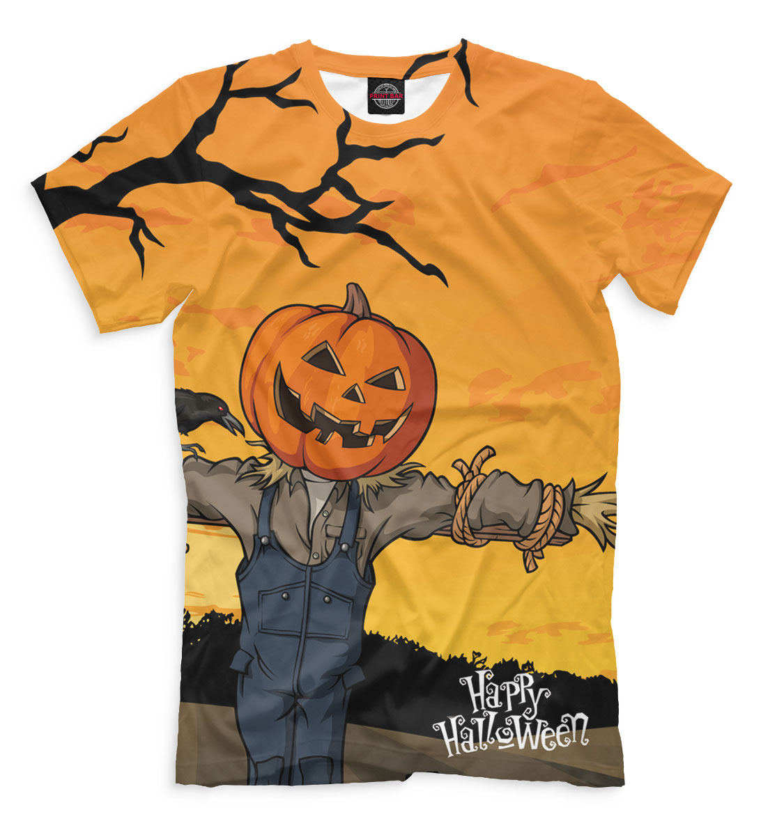 Купить Happy Halloween, Printbar, Футболки, HAL-448168-fut-2