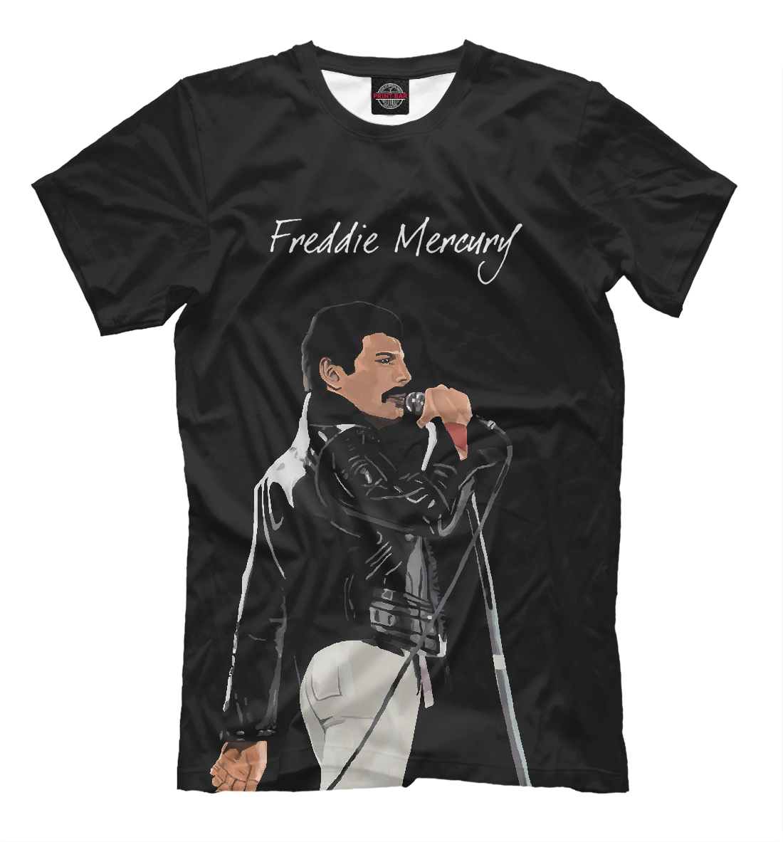 Купить Freddie Mercury Queen, Printbar, Футболки, QUE-311152-fut-2