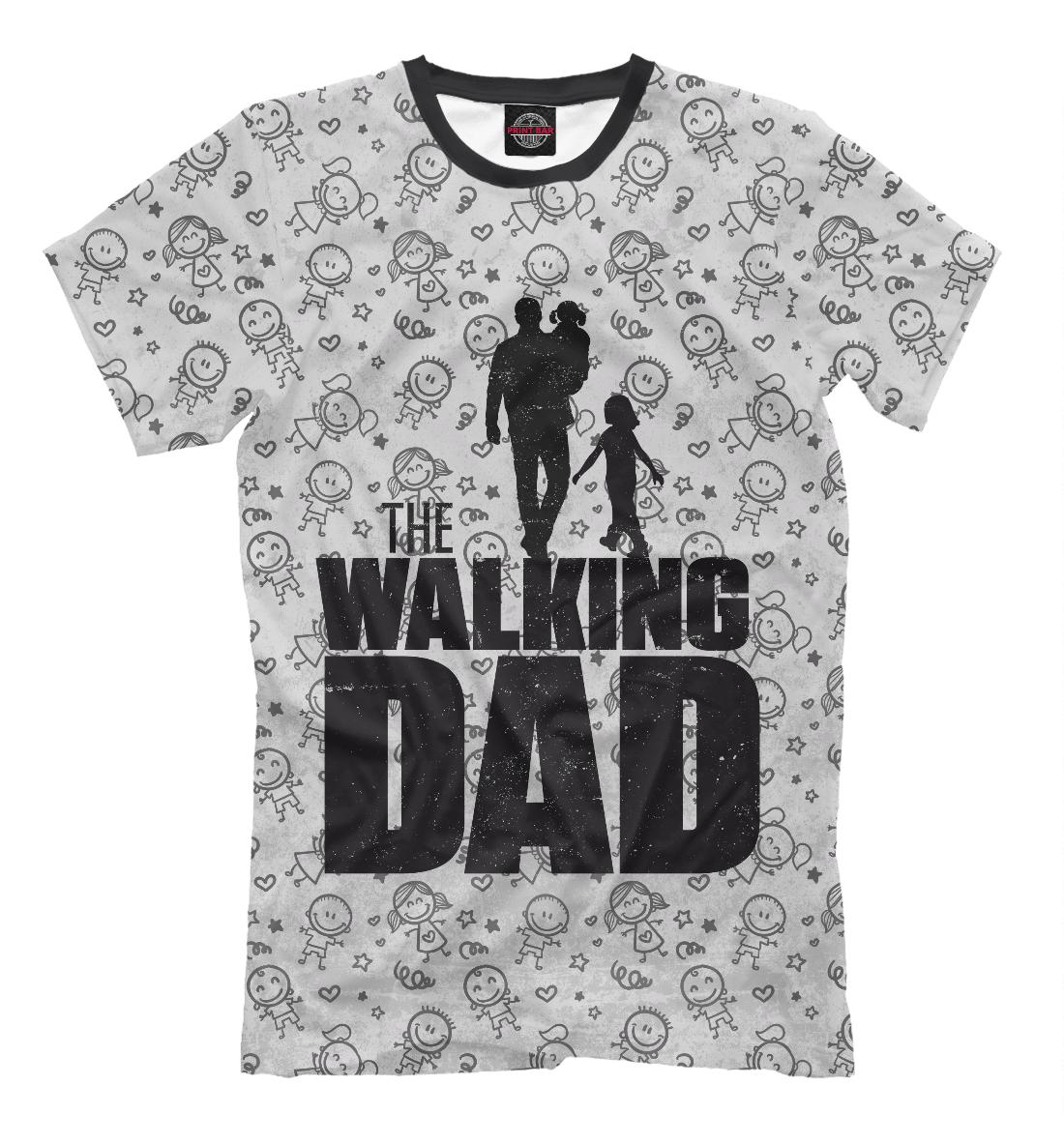 Купить Walking Dad, Printbar, Футболки, HOD-465409-fut-2
